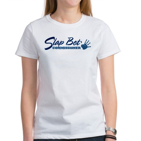 slap bet commissioner tee