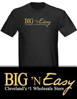 Big N Easy Hot in Cleveland tee