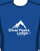 Hot Tub Silver Peaks Lodge tee