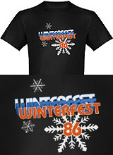 Hot Tub Time Machine Winterfest tee