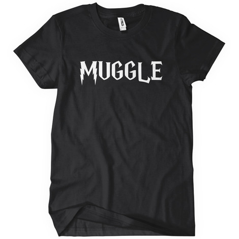 muggle harry potter t-shirts