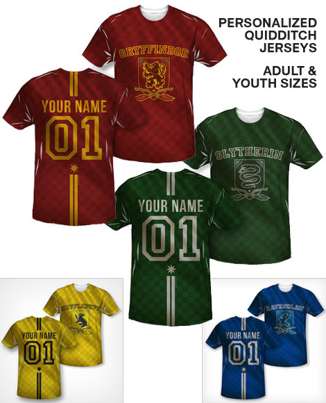 Personalized Quidditch t-shirt
