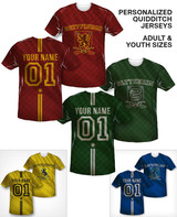 Coed Naked Quidditch t-shirt