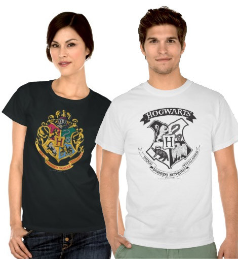 Harry Potter Hogwarts Crest t-shirts
