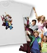 high school musical cast t-shirts