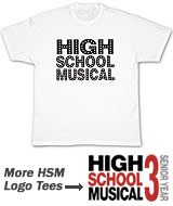 logo High School Musical t-shirt