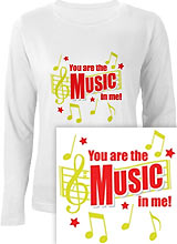 You are the Music in Me!