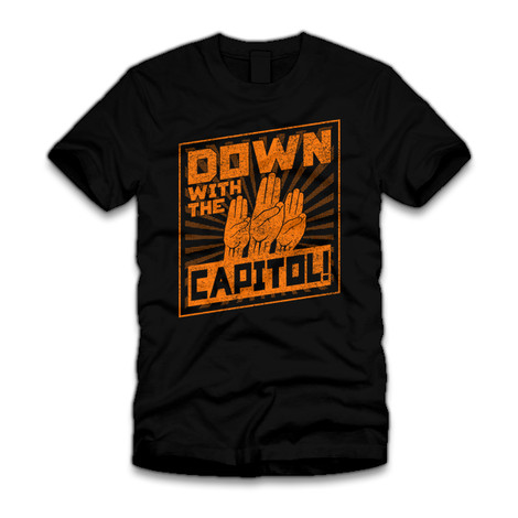 Down with the Capitol t-shirt