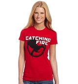 Catching Fire Logo tee