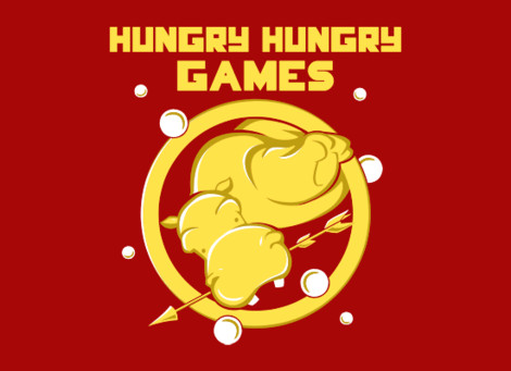 Hungry Hungry Games shirt