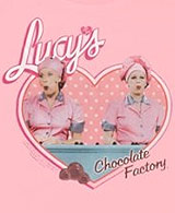 Lucy Chocolate Factory t-shirt