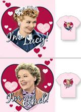 I'm Lucy I'm Ethel t-shirts