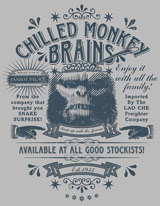Chilled Monkey Brains Indiana Jones shirt