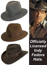 Indiana Jones Fedora Hats