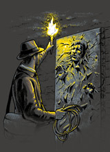 Starcheology Indiana Jones t-shirts