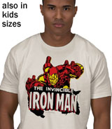 Marvel Invincible Iron Man t-shirt