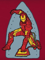 Marvel Ironing Man tee