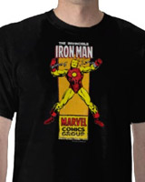 Breaking Chains Iron Man Retro t-shirt