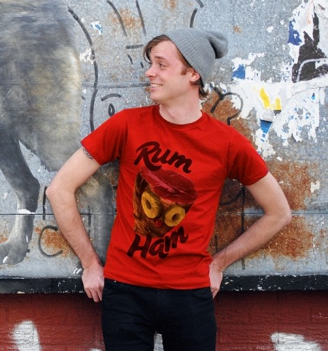 Always Sunny Rum Ham t-shirts