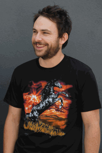 Charlie Day Horse shirt