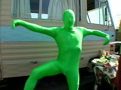 Greenman Costume It's Always Sunny
