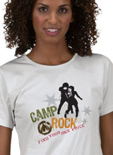 Jonas Brothers Camp Rock t-shirt