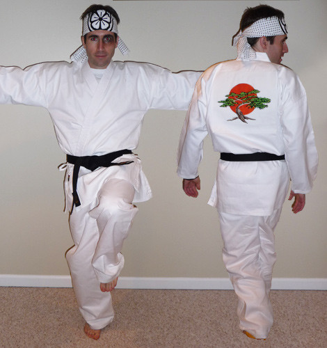 Karate Kid Adult Costume