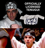 Karate Kid headband