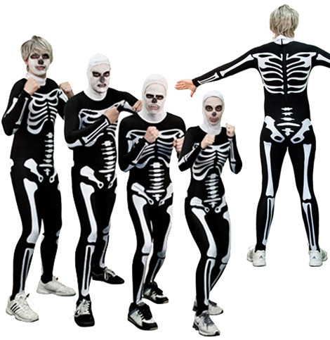 cobra kai skeleton costume - The Karate Kid Halloween Fight
