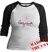 MTV Laguna Beach Flower Logo tee