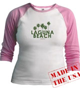 MTV Laguna Beach Palm Tree tee