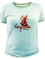 Sailboat Logo tee