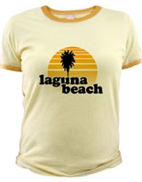 MTV Laguna Beach Sunset t-shirt