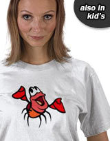 Little Mermaid Sebastian shirt