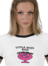 Little Miss Bad tee
