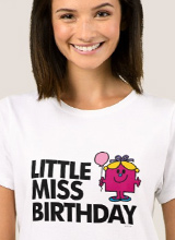 Little Miss Birthday tee