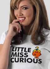 Little Miss Curious tee