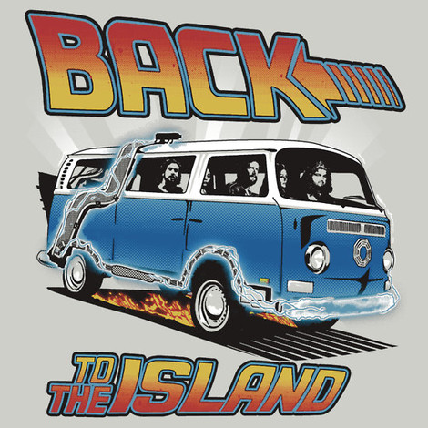 back to the island lost t-shirts