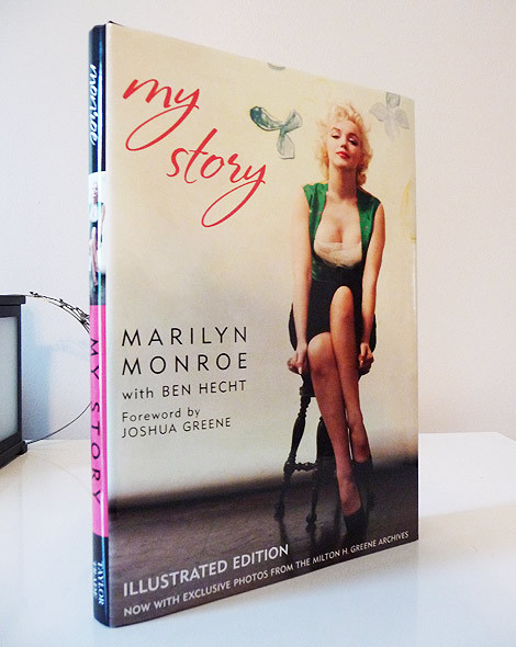 Marilyn Monroe Books Autobiography My Story