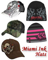 Miami Ink Hat or Beanie