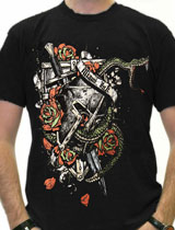 miami ink war reptile t-shirt
