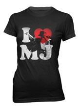 I Love MJ Michael Jackson shirt