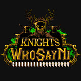 Monty Python and the Holy Grail Knights Who Say Ni tee