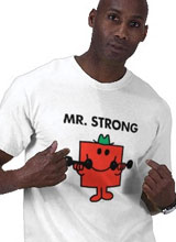 Mr. Strong tee