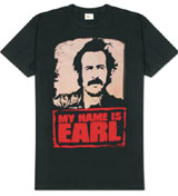 My Name is Earl logo t-shirt