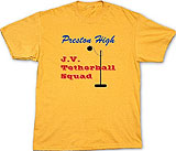 Preston High tetherball tee
