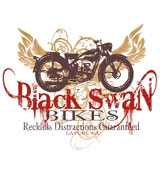 Black Swan Motorcycles shirt