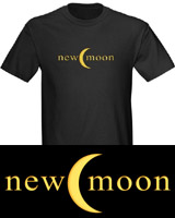 New Moon Crescent Logo t-shirt