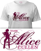 New Moon Team Alice t-shirts