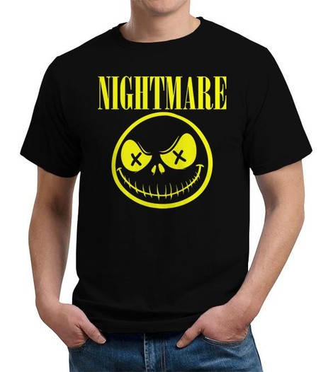 Jack's Nightmare Before Christmas t-shirt